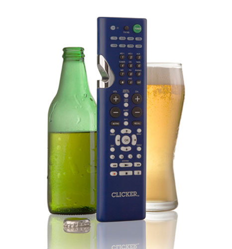 Clicker: Universal Remote Control plus a bottle opener