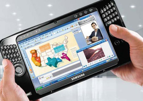 samsung tablet pc Samsung also will launch a Tablet PC as iPad killer
