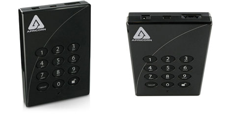 Aegis padlock Pro: external hard drive equipped with a security system and padlock