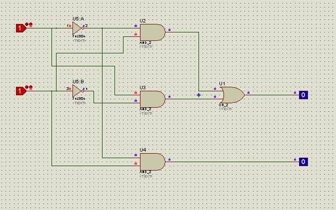 Circuito Kpop : Circuitos digitales circuito semirestador