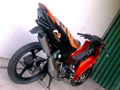 Modifikasi Mesin Yamaha Force 1