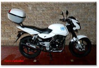 Modifikasi Motor Bajaj Pulsar 180 cc 2009 pictures