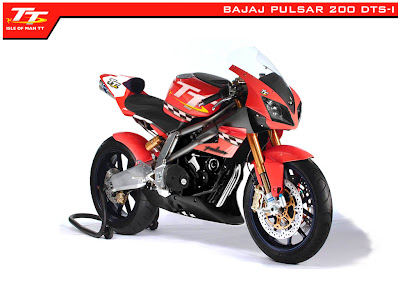 Modifikasi Bajaj Pulsar 200 DTS-i 2009 pictures