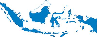 Gambar Peta Indonesia Terbaru