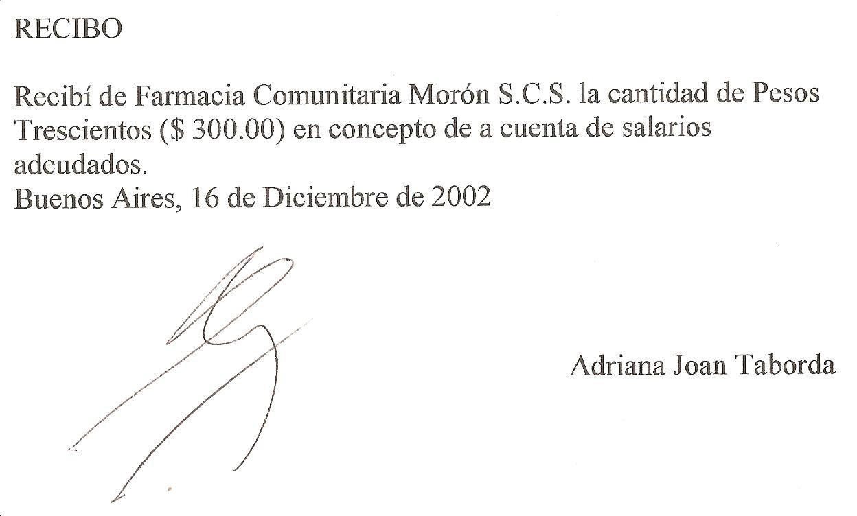 juicio honorarios: