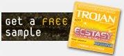 free condom samples