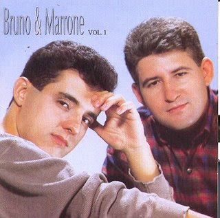 Capa do álbum Bruno e Marrone Vol.1 (1994)