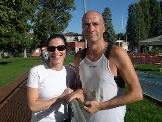 Deborah Danieletto e il coach Emanuele Olivieri