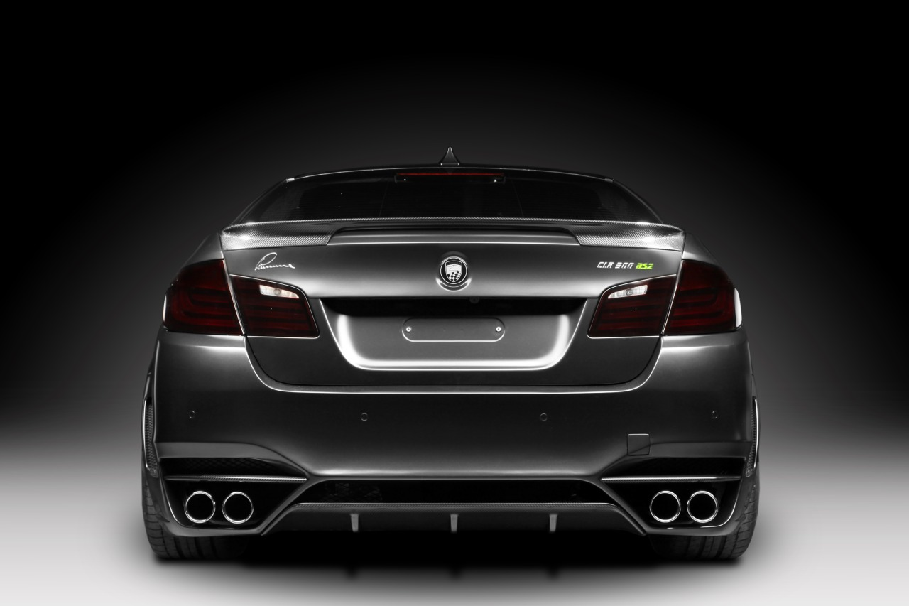 Bmw seria 5 lumma tuning rear view hd