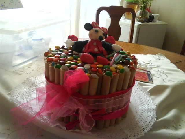 TORTAS: Torta Minnie Mouse