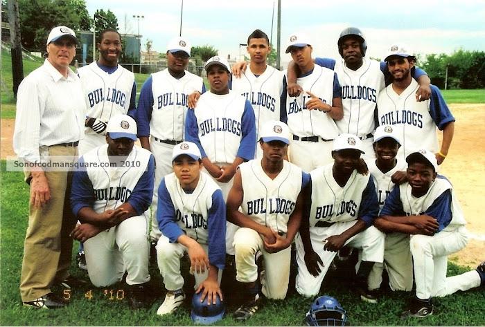 2010 J.E. Burke Baseball Team!