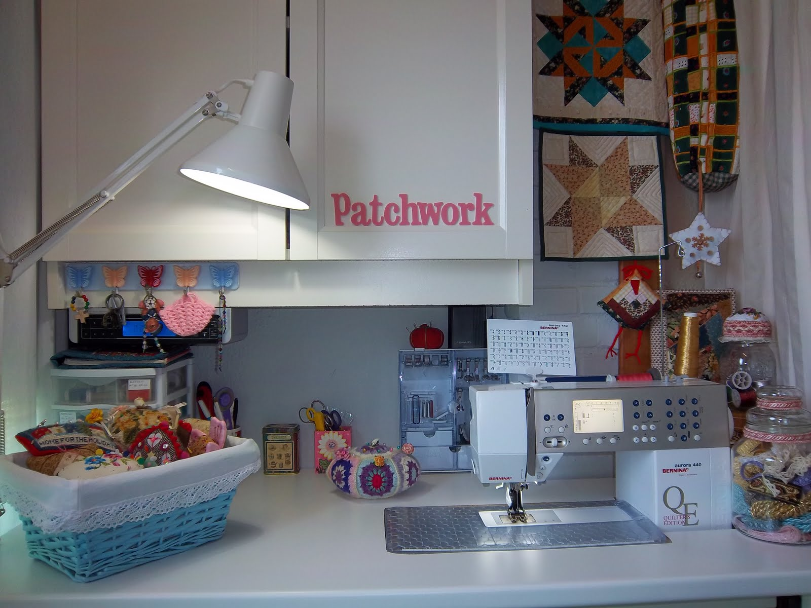 Mi sala de costura cuarto de costura - Mesas para costura ...