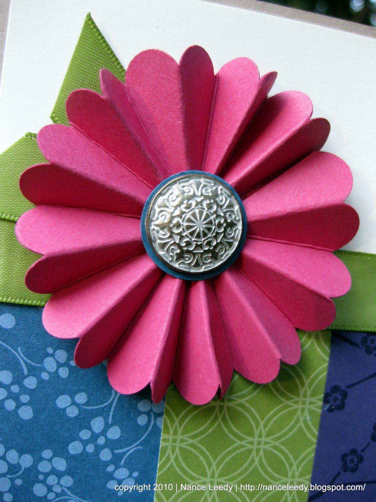 Canopy Crafts Fan Flower Pictorial