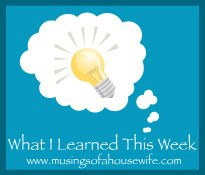Tuesday - What I Learned