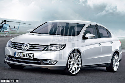 2011 Volkswagen Passat Rendered Images