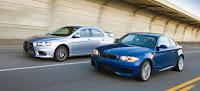 Comparison Video: 2008 BMW 135i vs Mitsubishi Lancer Evolution MR