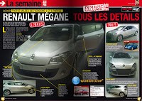 New 2009 Renault Megane Leaked Production Model Photos