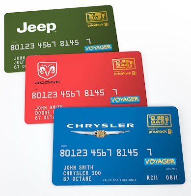 Chrysler's Let's Refuel America Gas Card