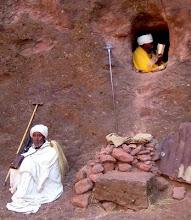 monjes etíopes