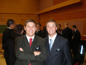 Elder Miller and Elder Van Dyke