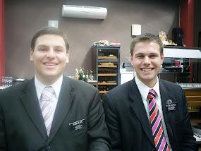 Elder Miller and Elder McBride