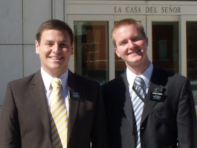 Elder Miller and Elder Karren
