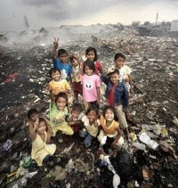 Children who work in the Dump
