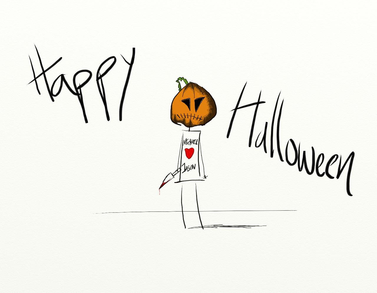 Hur som så fick det bli lite Halloweentema på det hela 8ba041c48c735