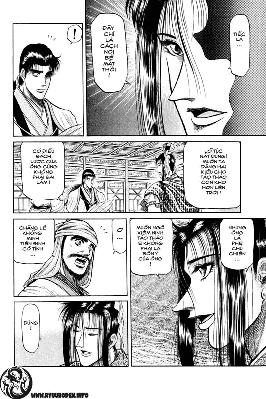 Chú bé rồng-Ryuuroden chap 34 Trang 6 - Mangak.info