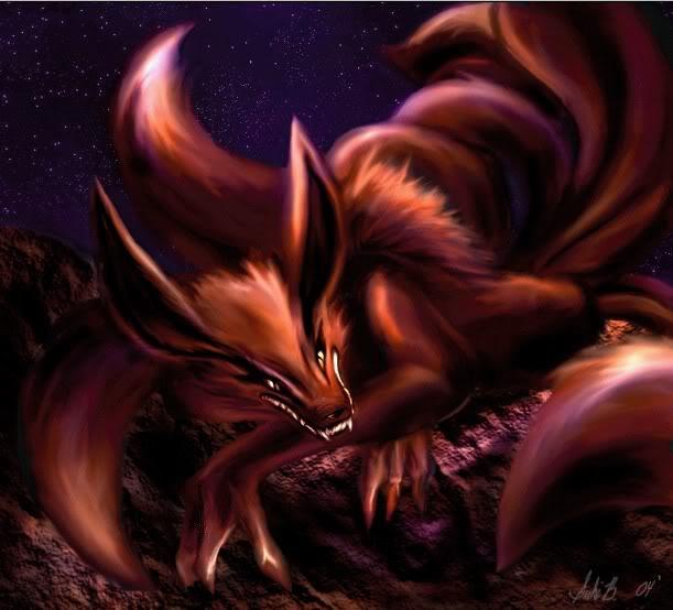 9 Tails Kyubi