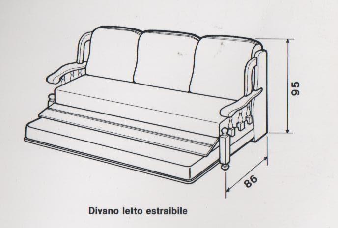 Divano letto apribile lo sapevate che fu ideato da un inventore palermitano - Costruire un divano da un letto ...