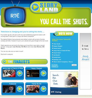 rte storyland online drama competition contetst web shows online shows storygas
