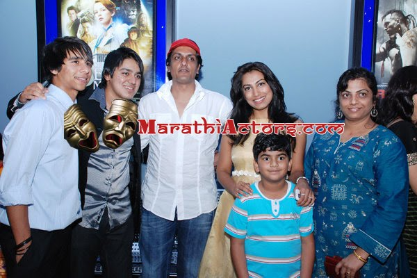 Target marathi Movie Premiere at Dubai photos.