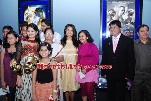 Target marathi Movie Premiere at Dubai photos kranti redkar