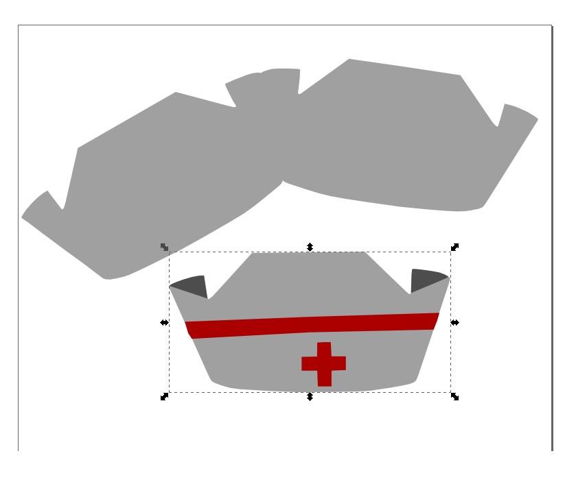 Как сделать из бумаги шапку для врача