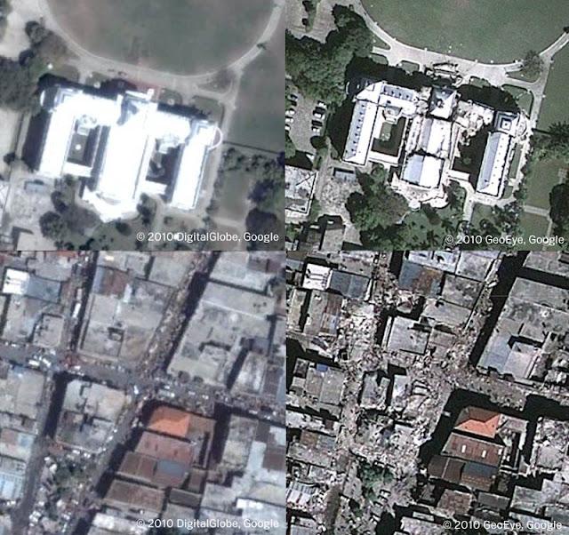 Comparaciones de construcciones en Haití
