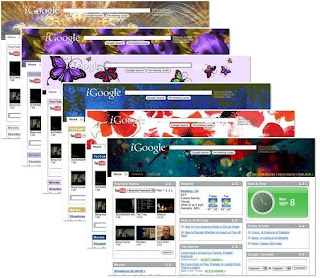 sample of iGoogle Theme