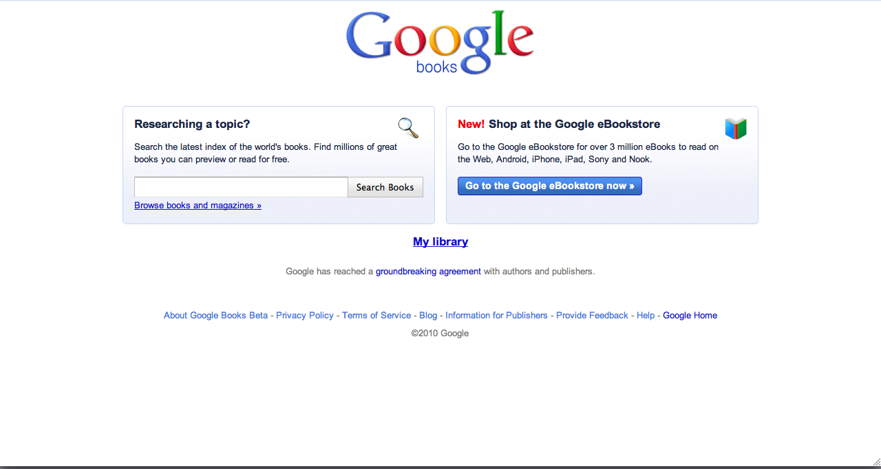 ... million Google eBooks from your choice of booksellers and devices