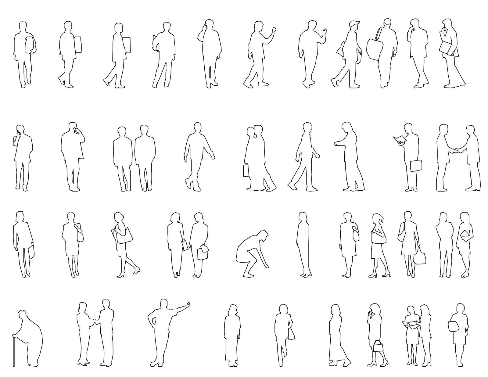Modren Architecture Drawing People Bondystudio Blog Hand Rendering