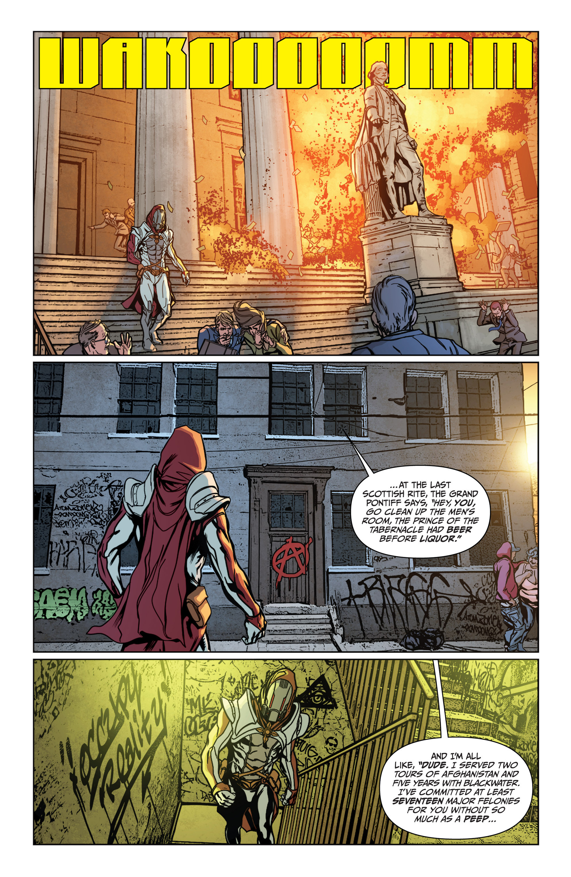 Archer and Armstrong 14 Page 21