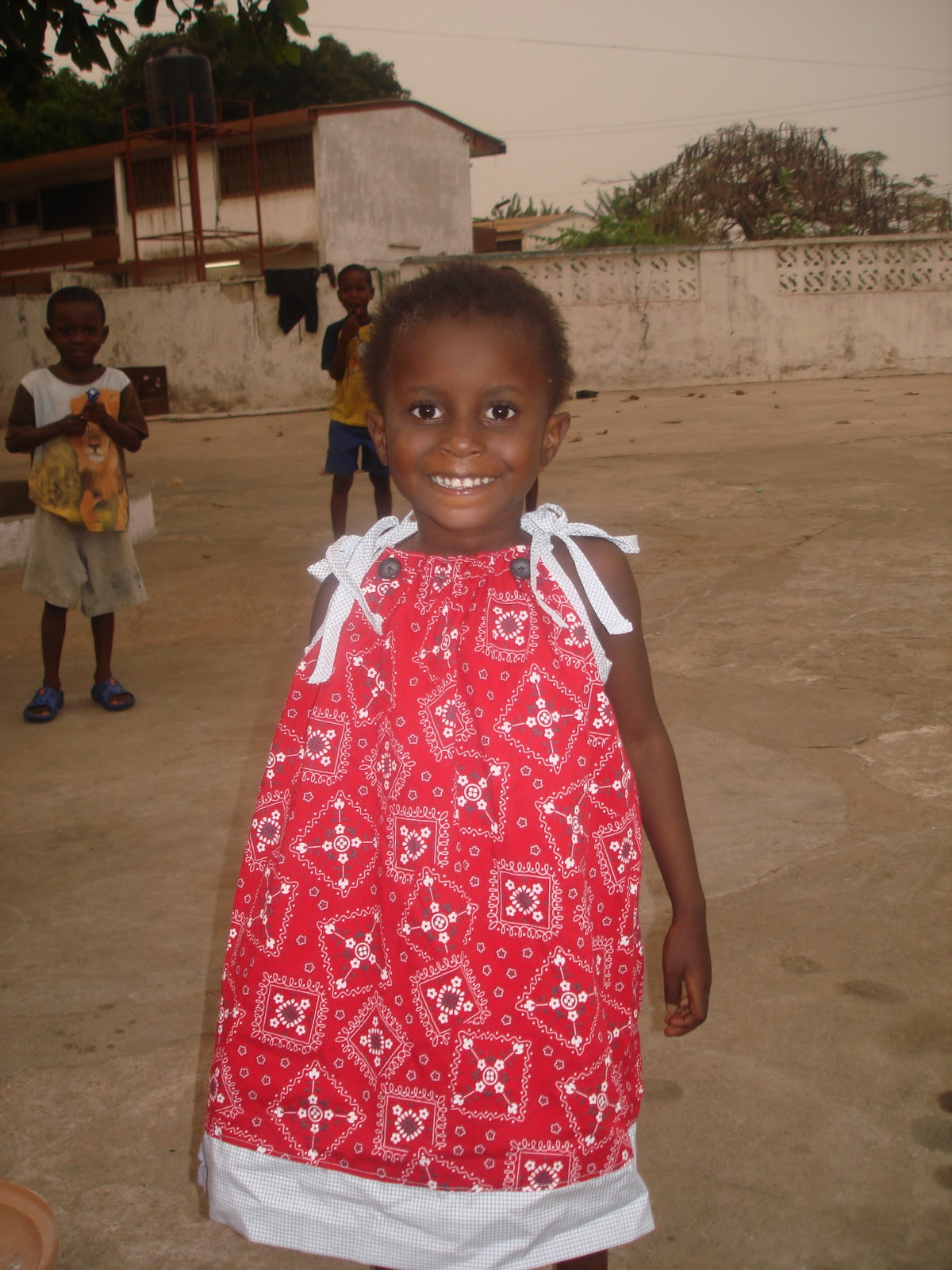 Ghana Africa Adoption Mission And Family Blog Bb Bits Pillowcase Dresses