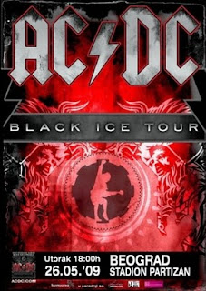 AC/DC - Black Ice Tour Live Belgrade