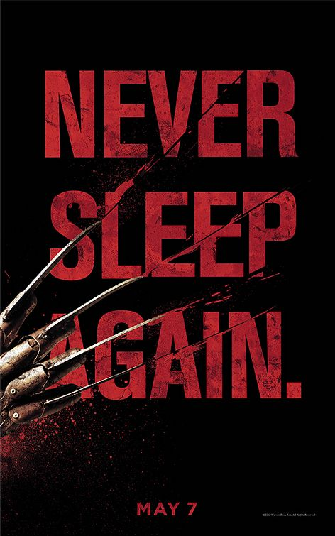 Nightmare on elm street motion poster