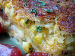 corn and crab pie