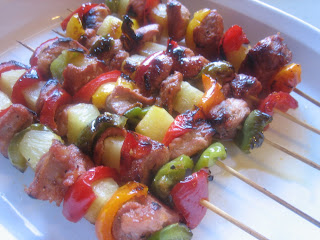 pork pineapple shish kabobs