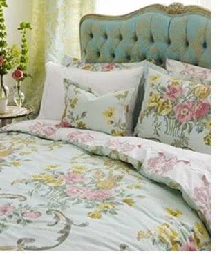 Vintage rose studio french style bedroom in ott designers for Designers guild bedroom ideas