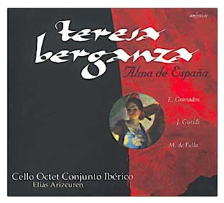 Teresa Berganza & Enrique Garcia Asensio The Art Of The Zarzuela - Teresa Berganza Sings Excerpts From Spanish Operettas