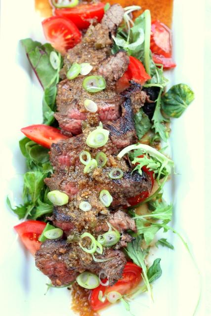 baking = love: Ginger steak salad, superwomen and super lashes