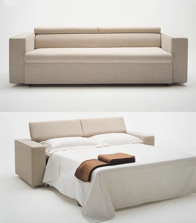 the collapsible bed which