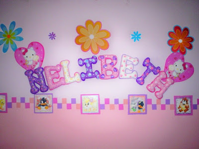 Letras Decorativas En Foamy